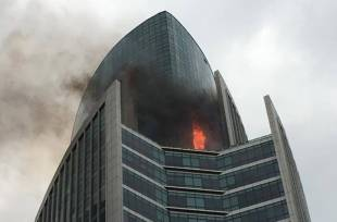Fire at Regal Tower
