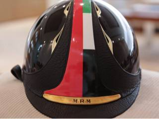 Mohammad's helmet auctioned for Dh24m