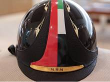 Mohammad's helmet fetches Dh24.05m