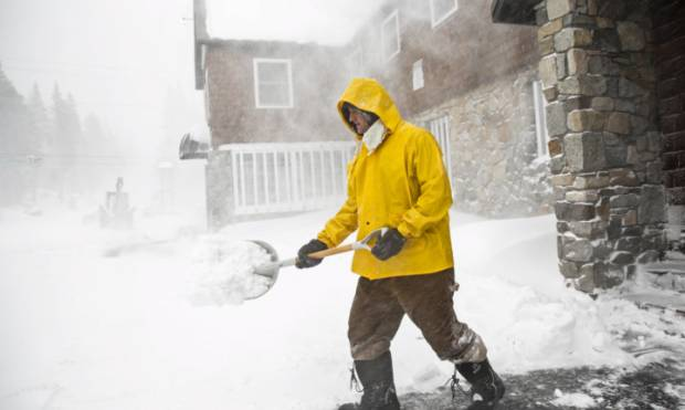 Storms blanket California with snow