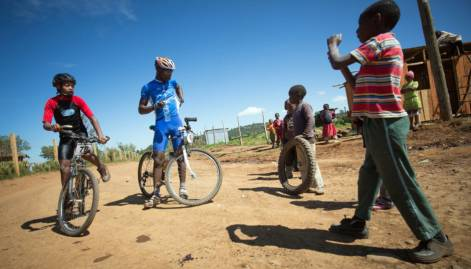 In pictures: Mt. Kenya Epik cycling challenge