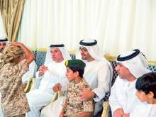 Mohammad offers condolences to martyr's family