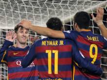 MSN all score for rampant Barca