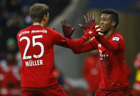Bayern go 11 points clear with Hertha win