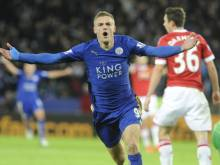 Vardy breaks Premier League scoring record