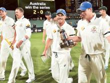 Australia relieved after tense three-wicket win