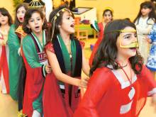 Government departments mark National Day