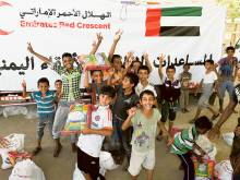UAE aids 1.5m Yemenis since Aden liberation