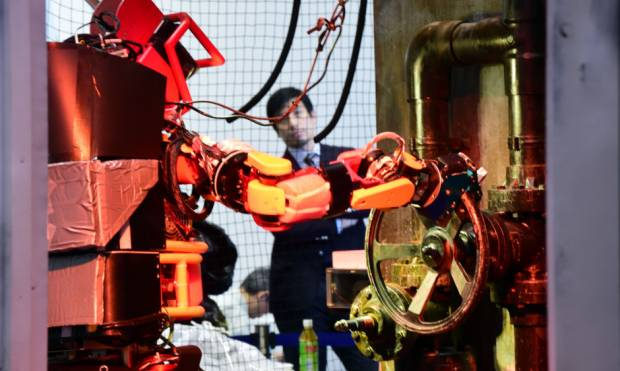 Disaster response robots on show