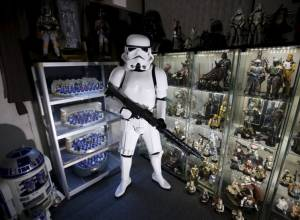 In pics: Star Wars fans and their collections