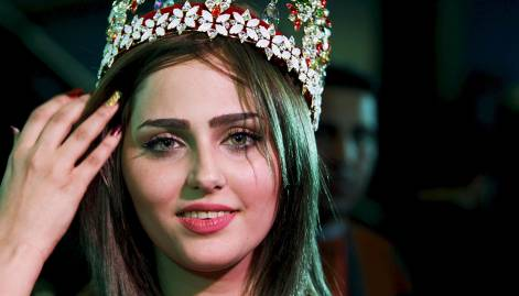 Pictures: Shaima wins Miss Iraq pageant