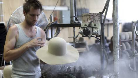 Rugged, stylish Akubra hat a symbol of Australia