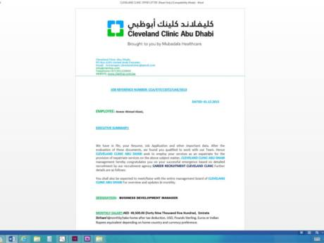 Another Day Another Job Scam In Abu Dhabi Gulfnews Com