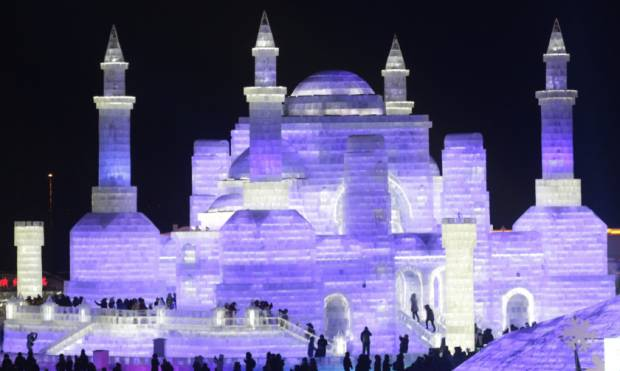 Ice, snow festival opens in China