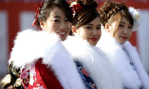Japan welcomes its newest adults