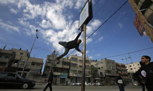Welcome to Parkour, Gaza style