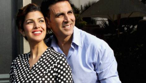 Sunny and Akshay in celebwatch