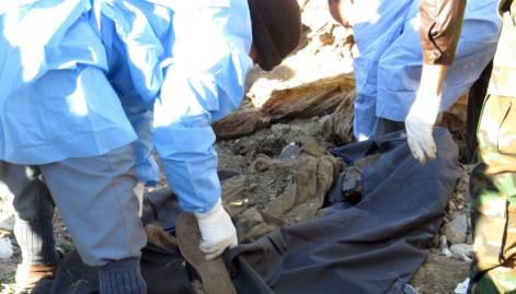 Mass grave of Daesh victims found in Ramadi