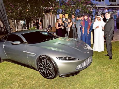 Aston Martin DB10 from Bond film auctioned in Dubai | GulfNews.com on 1968 aston dbs, aston db, bentley dbs, citroen dbs, aston dbs interior, aston martin's hot, toyota dbs, aston one-77, aston v8 vantage,