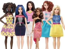 Barbie now ethnically diverse, has new body type