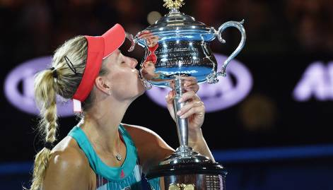 Pictures: Angelique Kerber wins Australian Open