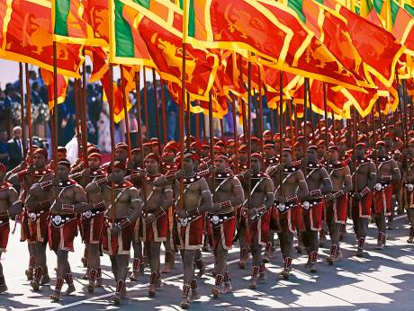 Sri Lanka Marks Independence Day With Symbolic Tamil