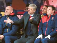 Wenger says Leicester are title favourites