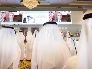 Obama tells Dubai: 'We're proud partners'