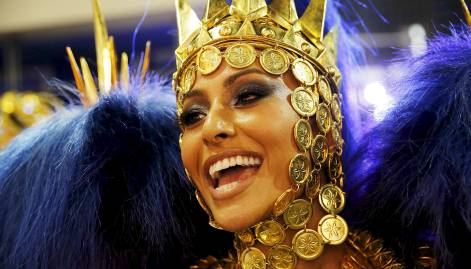 Top 10 faces at Rio Carnival 2016