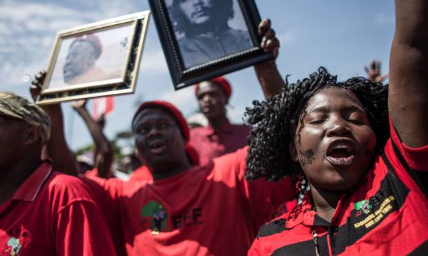 Protests as court hears case against Jacob Zuma