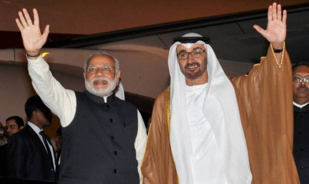 UAE keen to strengthen ties with India