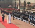 In pictures: Mohammad Bin Zayed in New Delhi