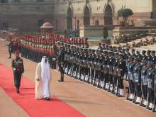 Mohammad gets red carpet welcome in India