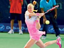 Kvitova's goal is second title at Dubai event