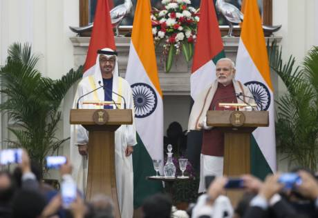 UAE and India issue joint statement