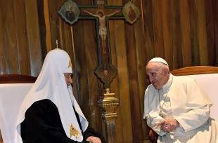 Pope Francis and Kirill Airport