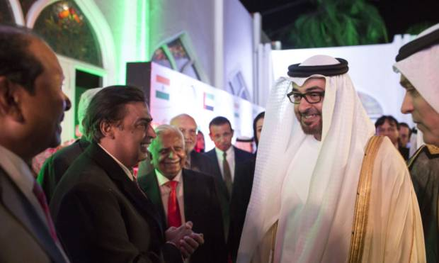 Pictures: Mohammad Bin Zayed in Mumbai