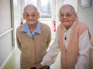104-year-old twins reveal their secret