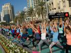 Yoga gets Dubai moving