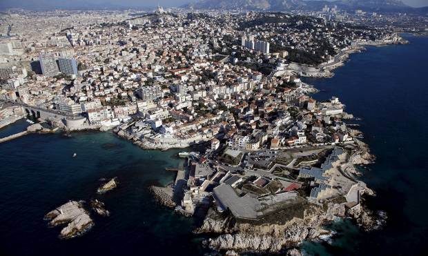 View from above: Beautiful Marseille