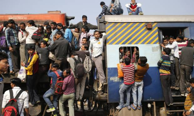 Riding the rails in India