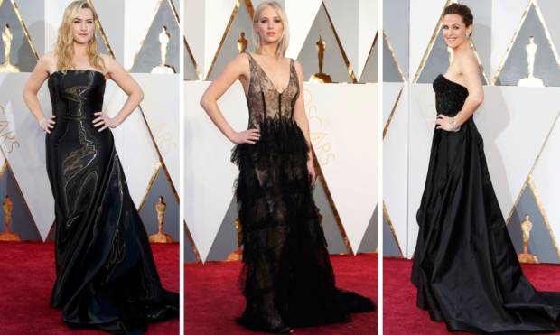 Pictures: Dominating shades of Oscar