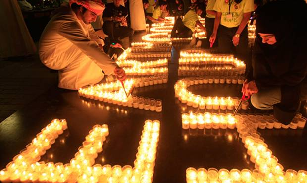 Eco-warriors in action on Earth Hour