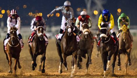 Winning horses at Dubai World Cup 2016