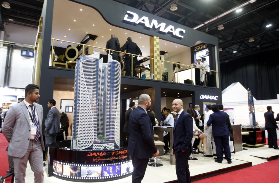 The Damac pavilion at the International Property in Dubai last year