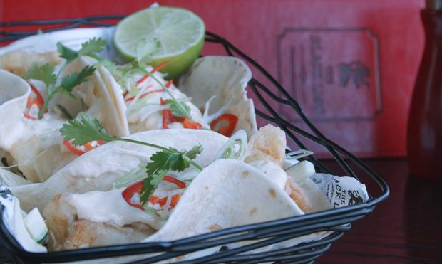How to make Black Lion's amazing fish taco