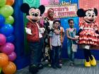 Mickey Mouse visits Dubai