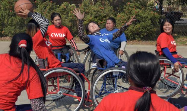 Dreams fuel disabled basketballers
