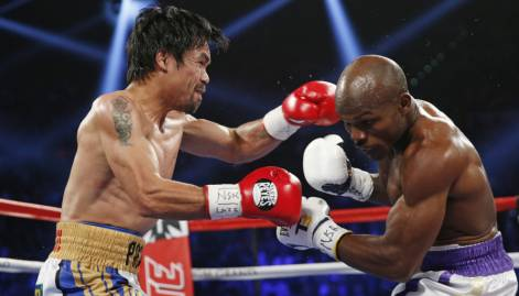 Pictures: Pacquiao wins farewell fight