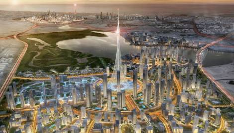 A peek at the world's next tallest tower